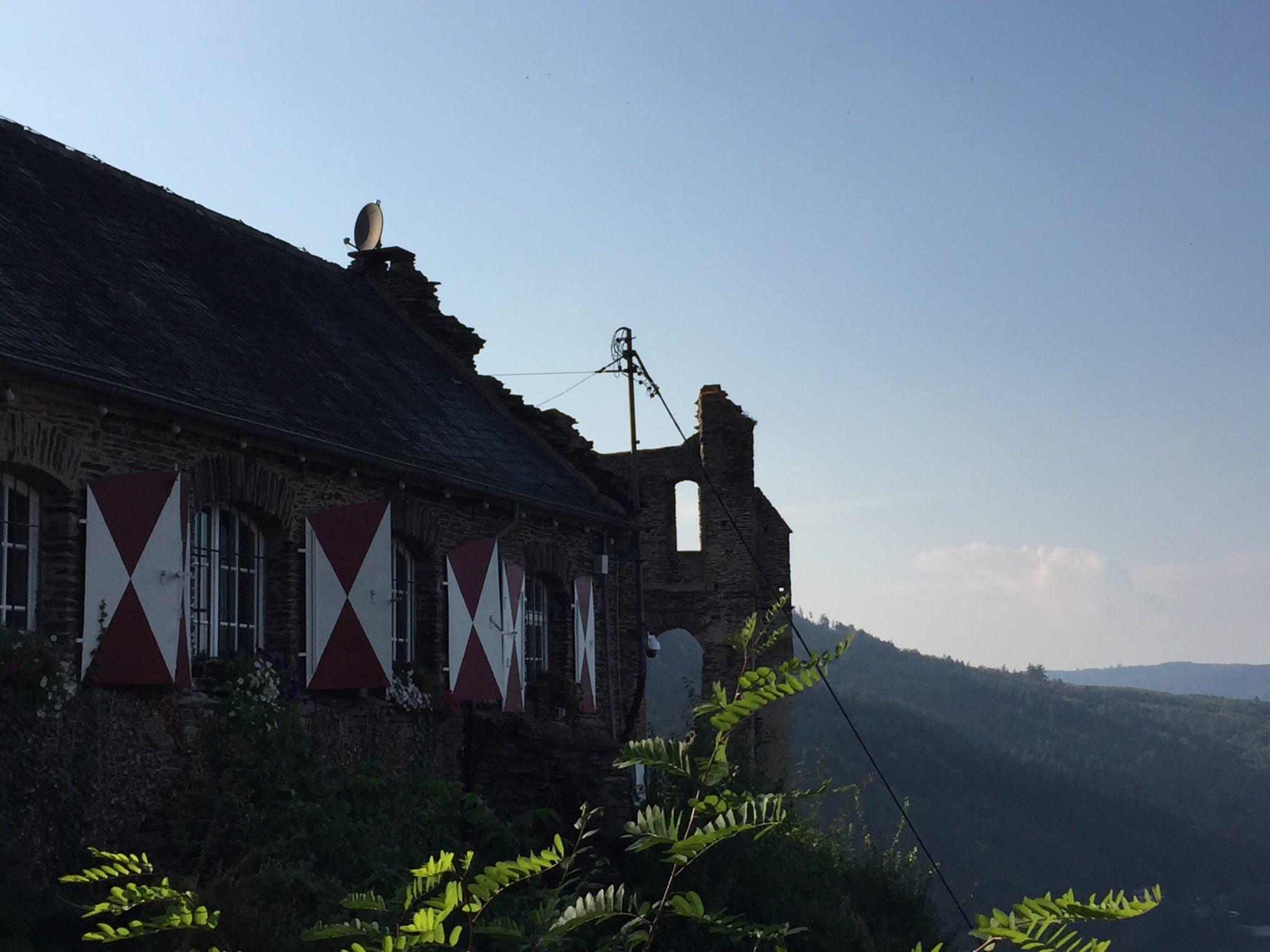 Gasthaus an der Burg von Traben-Trarbach