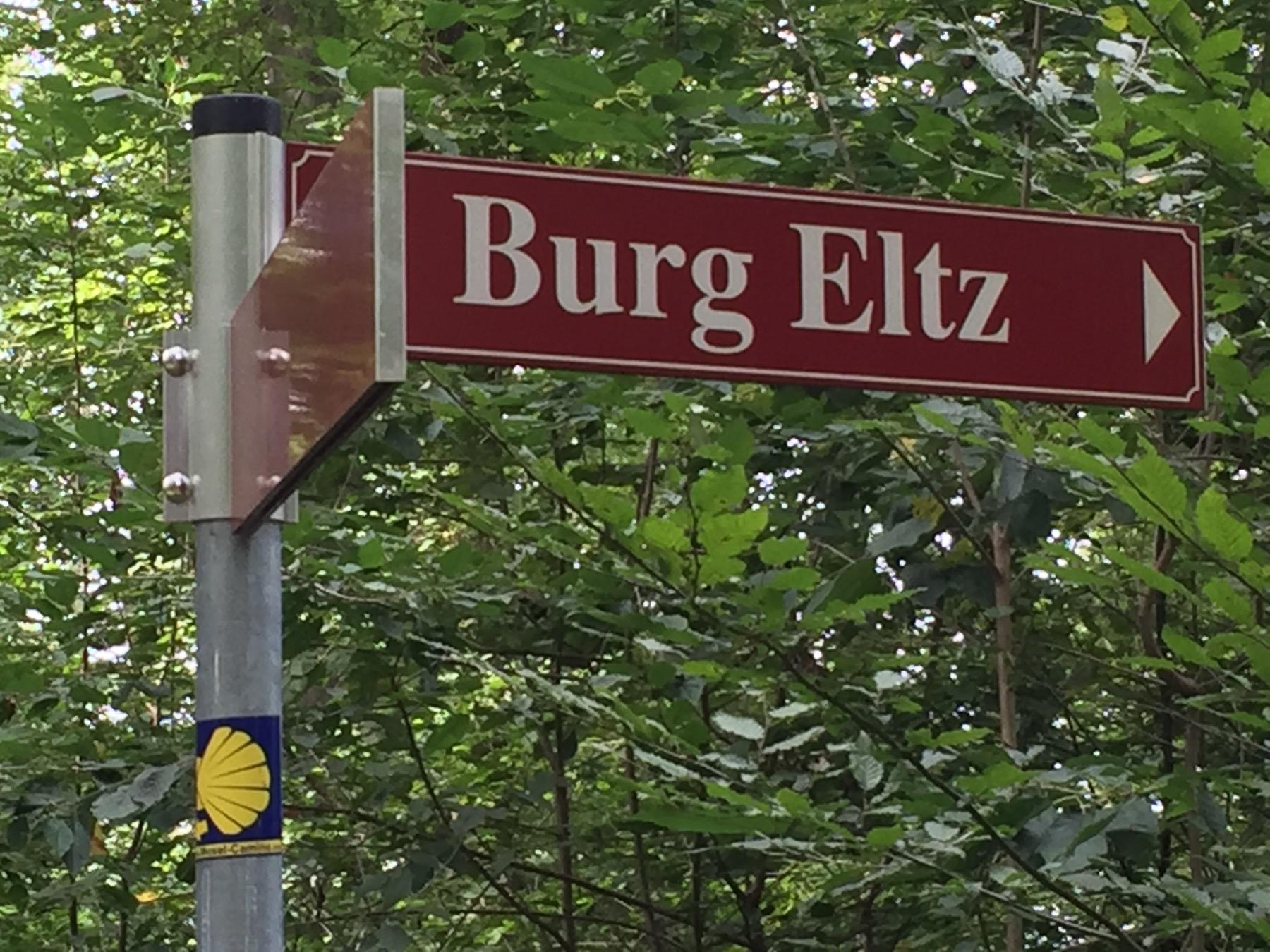 Kurz vor Bulg Eltz