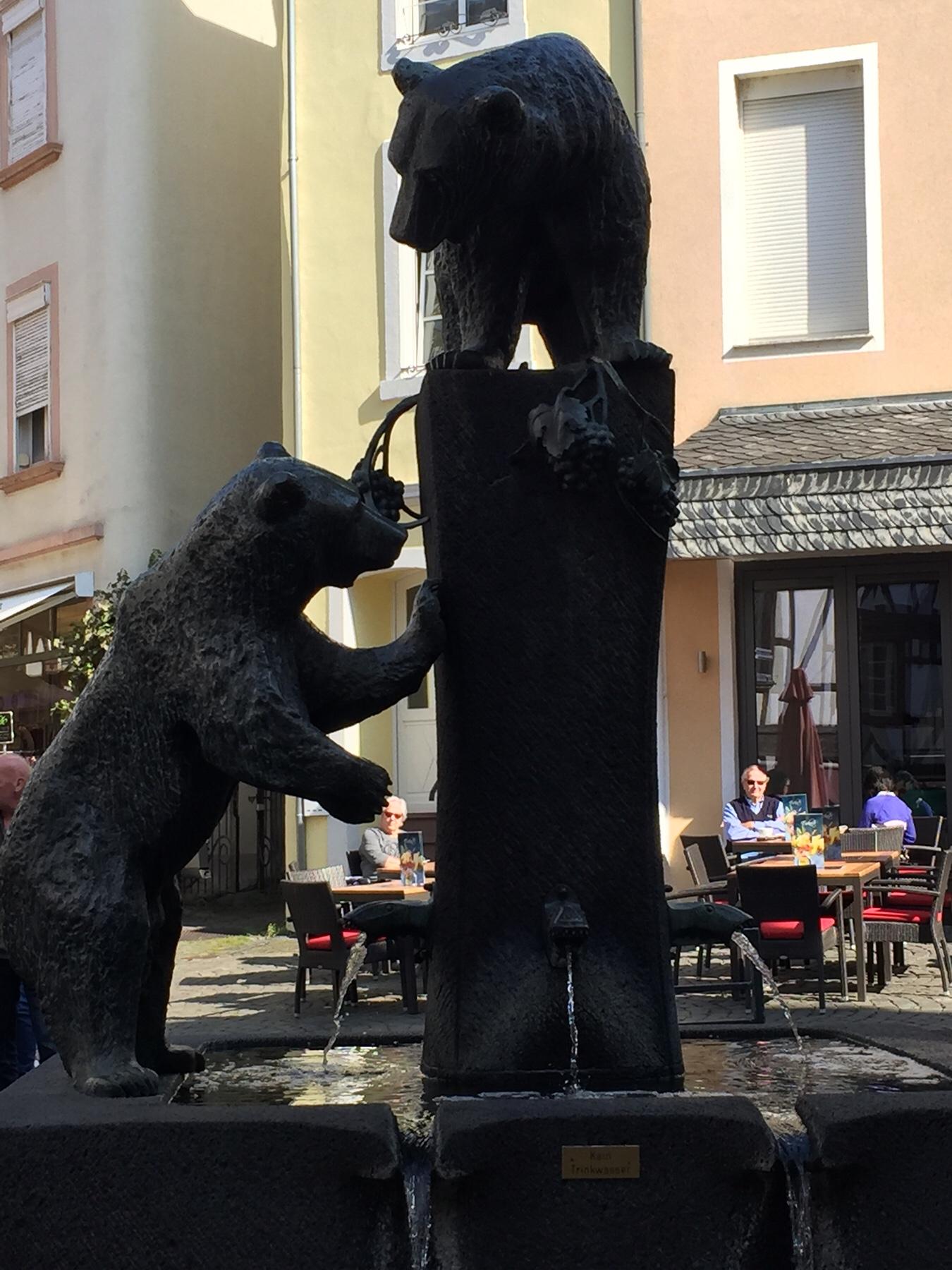 Bärenbrunnen in Bernkastel am Mosel-Camino
