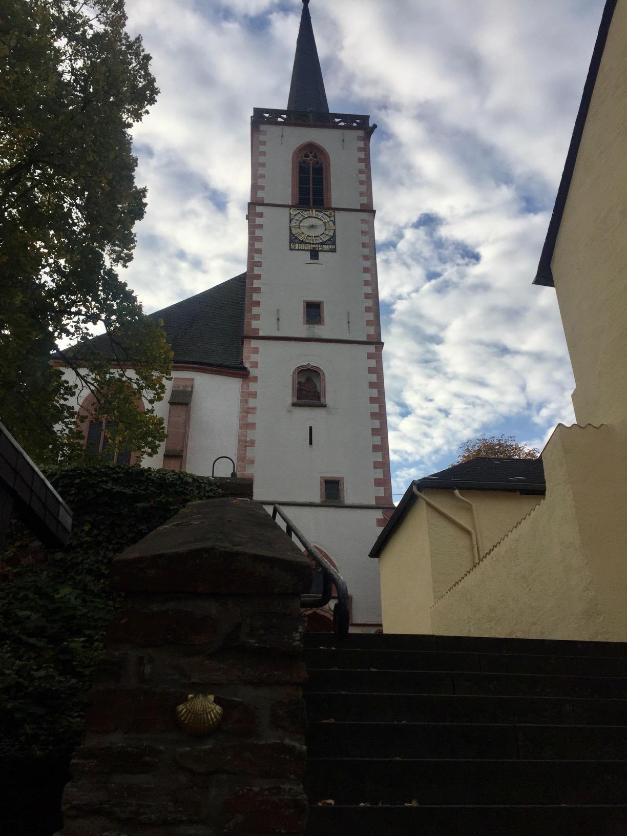 Wallfahrtskirche Maria Heimsuchung in Klausen, Mosel-Camino nach Schweich