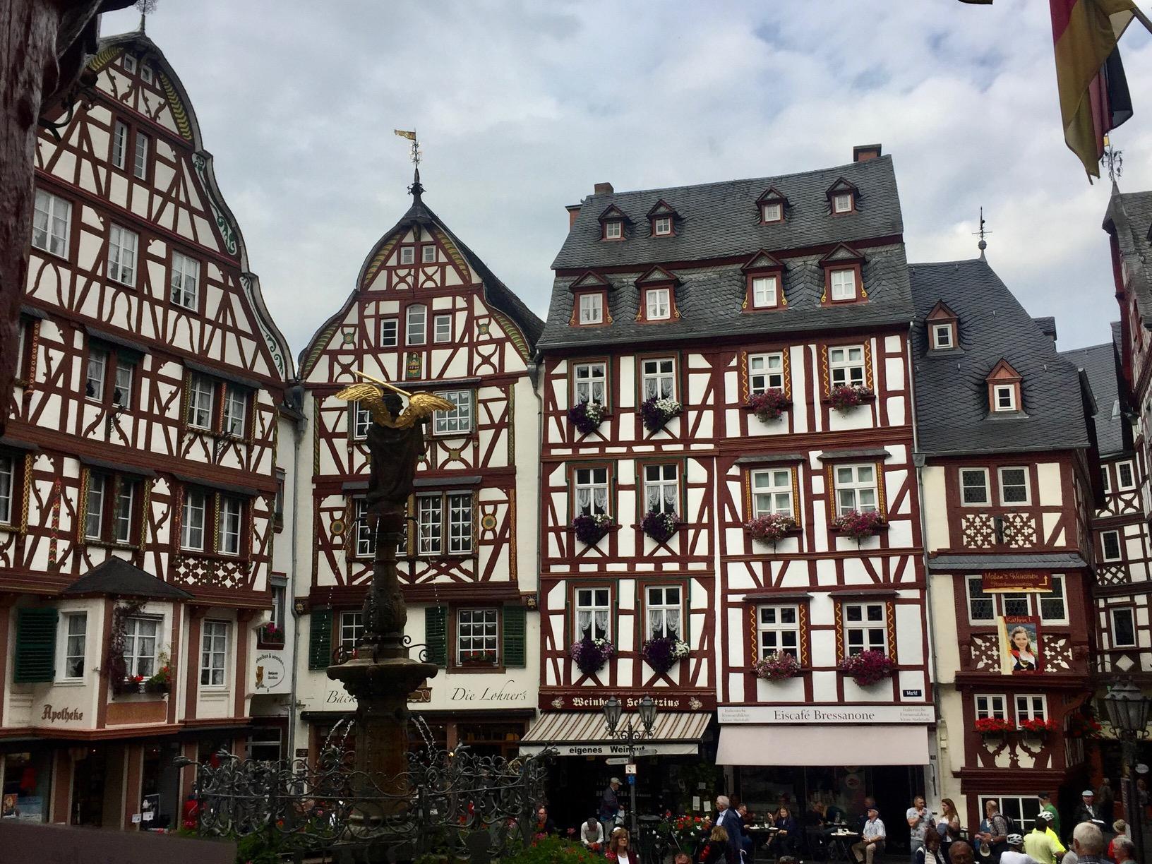 Marktplatz von Bernkastel