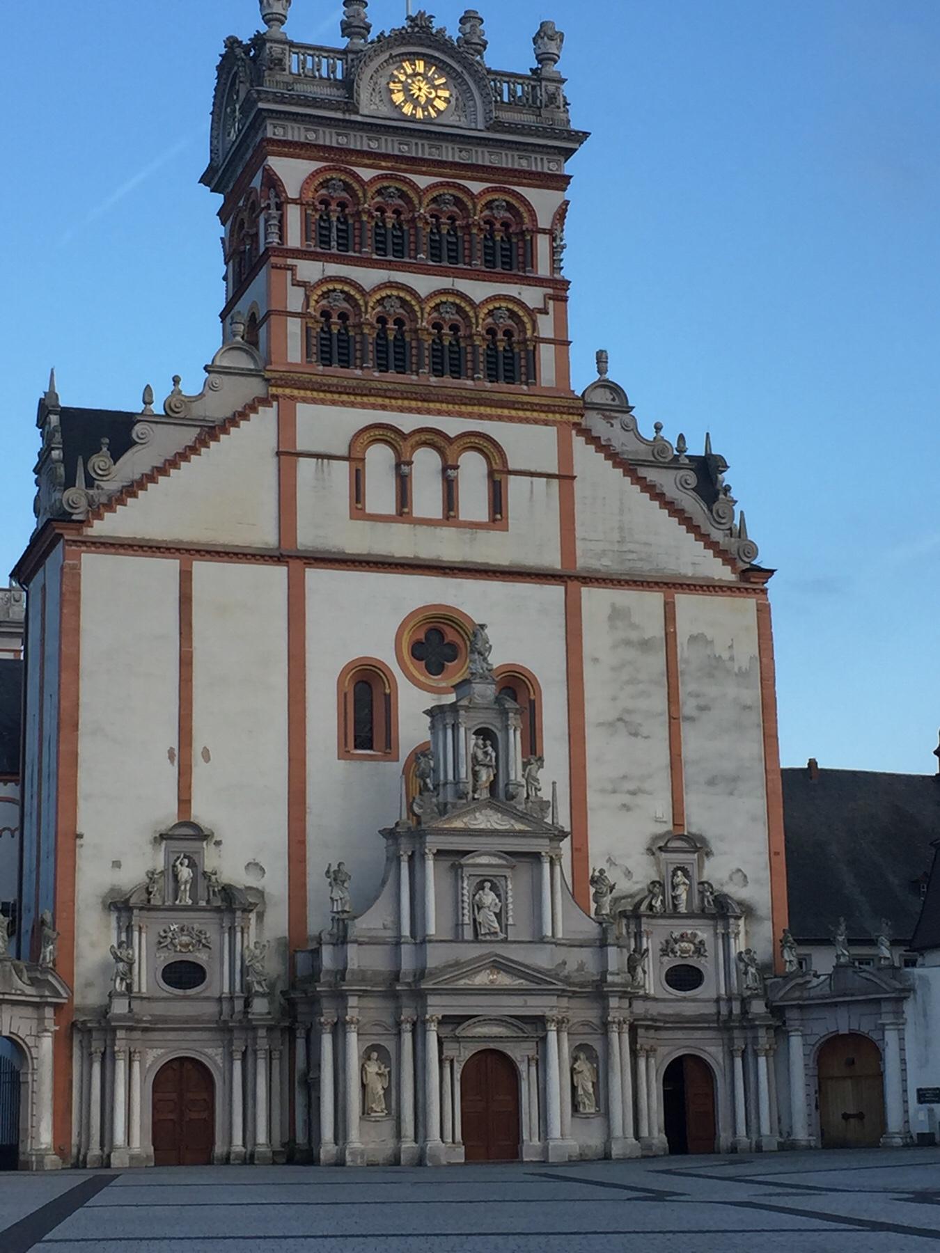 Der Endpunkt des Mosel-Caminos: Die Abtei St. Matthias in Trier