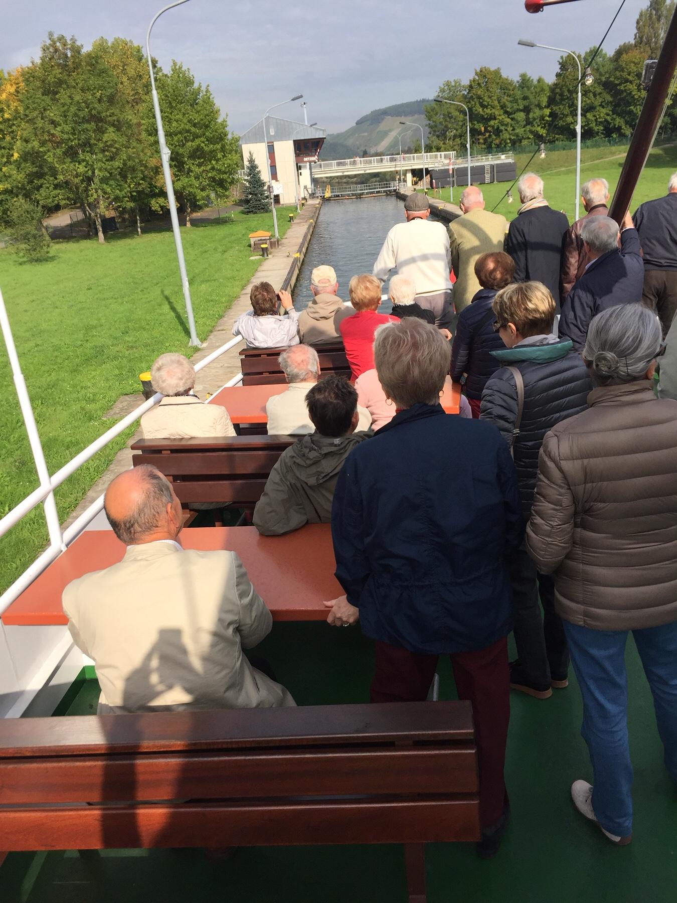 Per Schiff von Trier nach Bernkastel