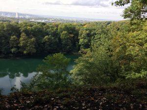 Der Blaue See hinter Bonn auf dem Rheinsteig