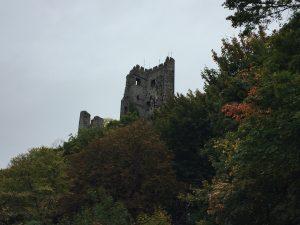 Drachenfels Ruine am Rheinsteig bei Königswinter