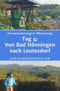 Rheinsteig: Tag 4: Von Orsberg nach Bad Hönningen #rheinsteig #deutschland #wanderung #fernwanderung #wandern #fernwandern #rucksack #wanderblog #wanderblogger #outdoorblog #nrw #wald #rhein #läuftbeiihr