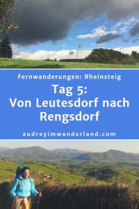 Rheinsteig - Tag 5: Von Leutesdorf nach Rengsdorf #rheinsteig #deutschland #wanderung #fernwanderung #wandern #fernwandern #rucksack #wanderblog #wanderblogger #outdoorblog #nrw #wald #rhein #läuftbeiihr