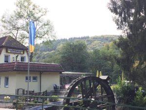 Die Pulvermühle am Rheinsteig