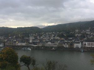 Blick auf Monschau vom Rheinsteig