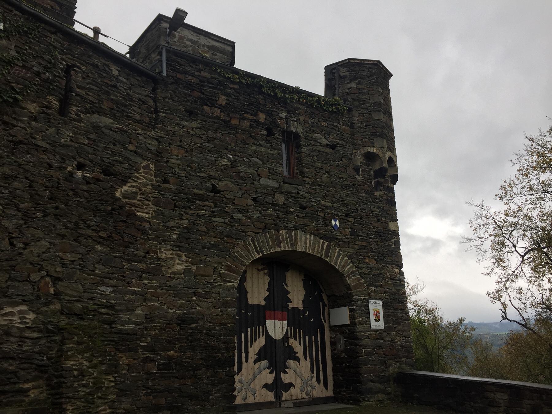 Burg Maus Wellmich, Rheinsteig