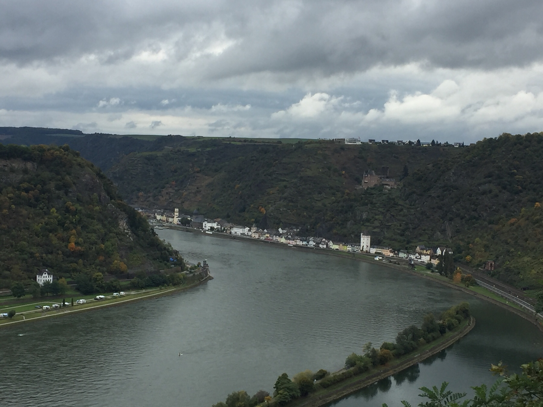 Blick vom Loreley-Plateau