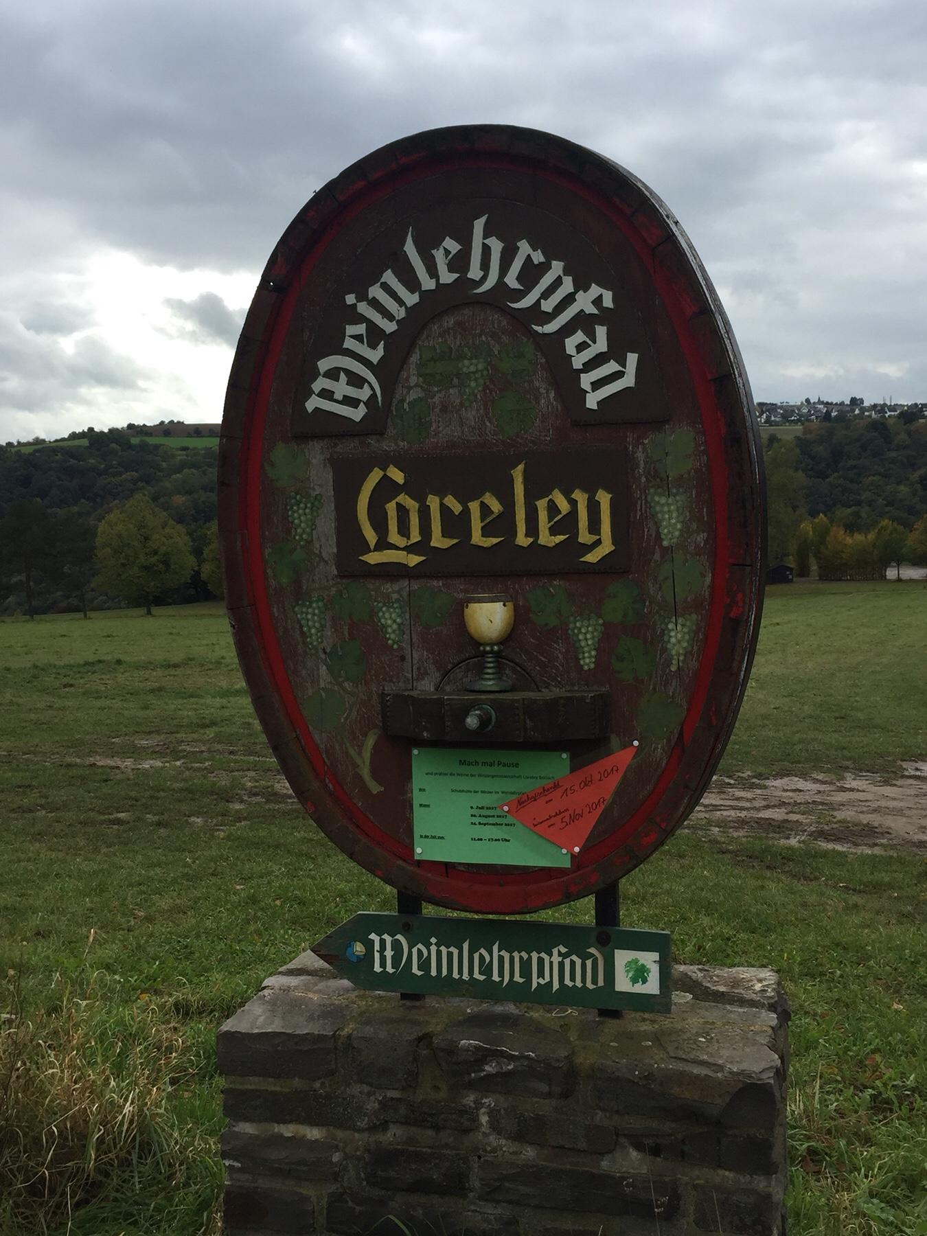 Weinlehrpfad Loreley, Rheinsteig