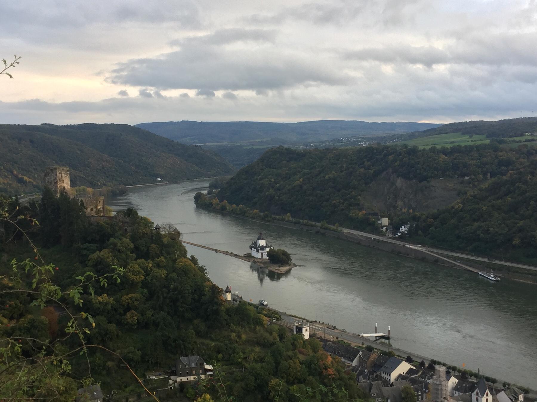Burg Pfalzgrafenstein, Kaub, Rheinsteig