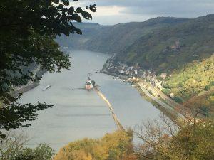 Blick auf Kaub vom Rheinsteig