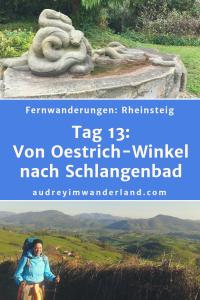 Rheinsteig - Tag 13: Von Oestrich-Winkel nach Schlangenbad. #rheinsteig #deutschland #wanderung #fernwanderung #wandern #fernwandern #rucksack #wanderblog #wanderblogger #outdoorblog #rlp #rheinlandpfalz #wald #rhein #läuftbeiihr