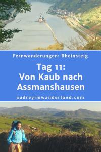 Rheinsteig - Tag 3: Von Kaub nach Assmanshausen #rheinsteig #deutschland #wanderung #fernwanderung #wandern #fernwandern #rucksack #wanderblog #wanderblogger #outdoorblog #rlp #rheinlandpfalz #wald #rhein #läuftbeiihr