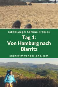 Camino Francés - Tag 1: Von Hamburg nach Biarritz. #fernwanderung #wandern #caminodesantiago #camino #caminofrances #spanien #frankreich #läuftbeiihr