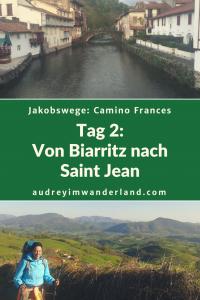 Camino Francés - Tag 2: Von Biarritz nach Saint Jean Pied de Port