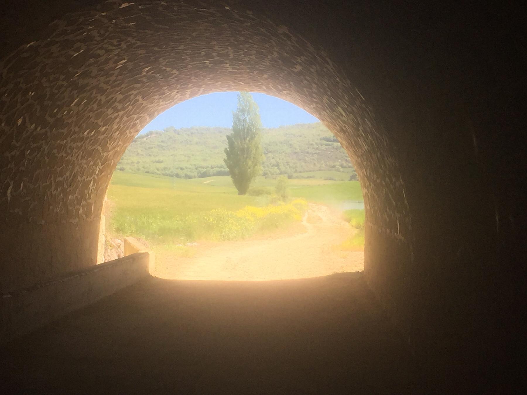 Freiheit am Ende des Tunnels