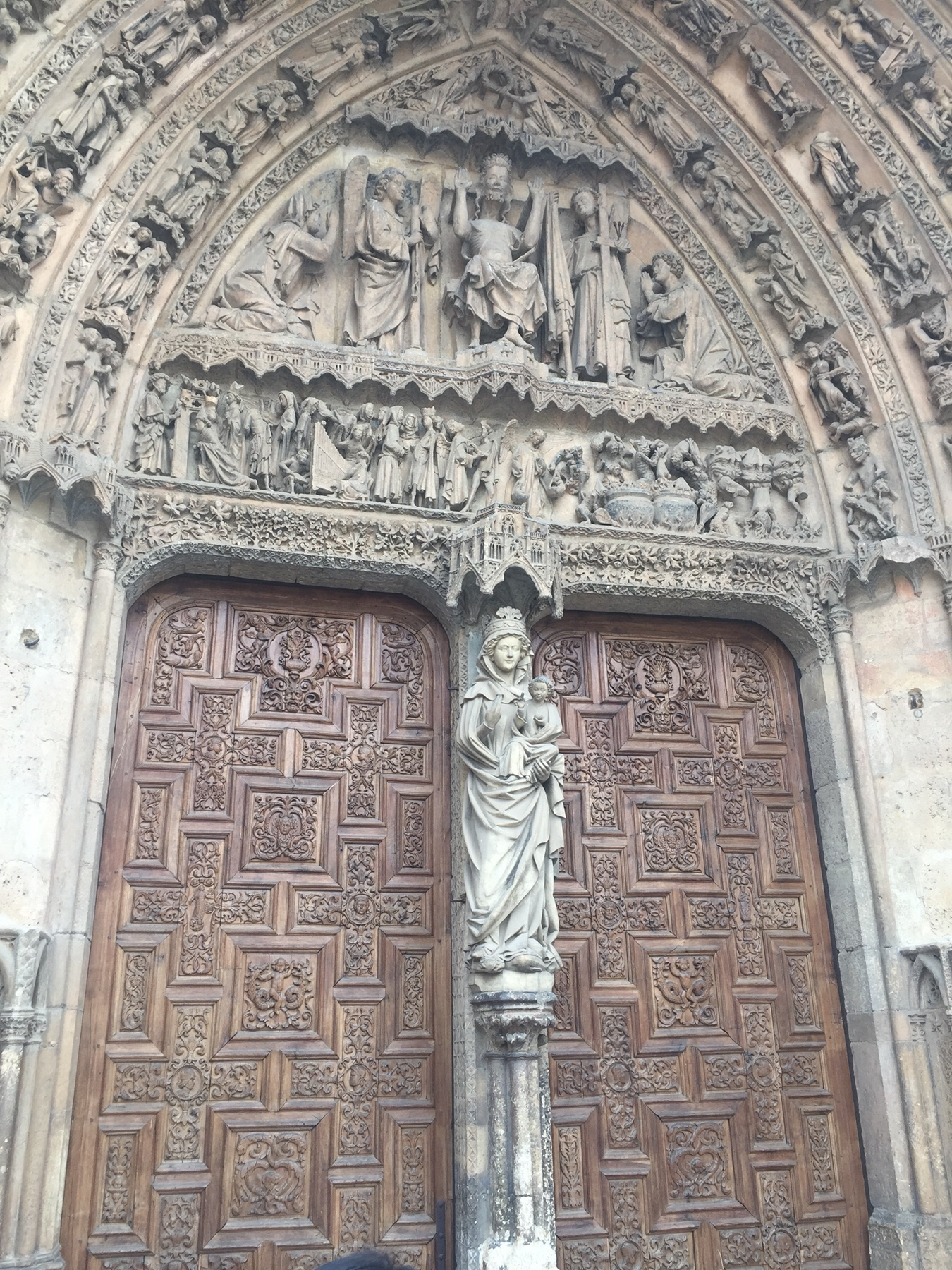 Portal der Kathedrale von Leon, Camino Frances