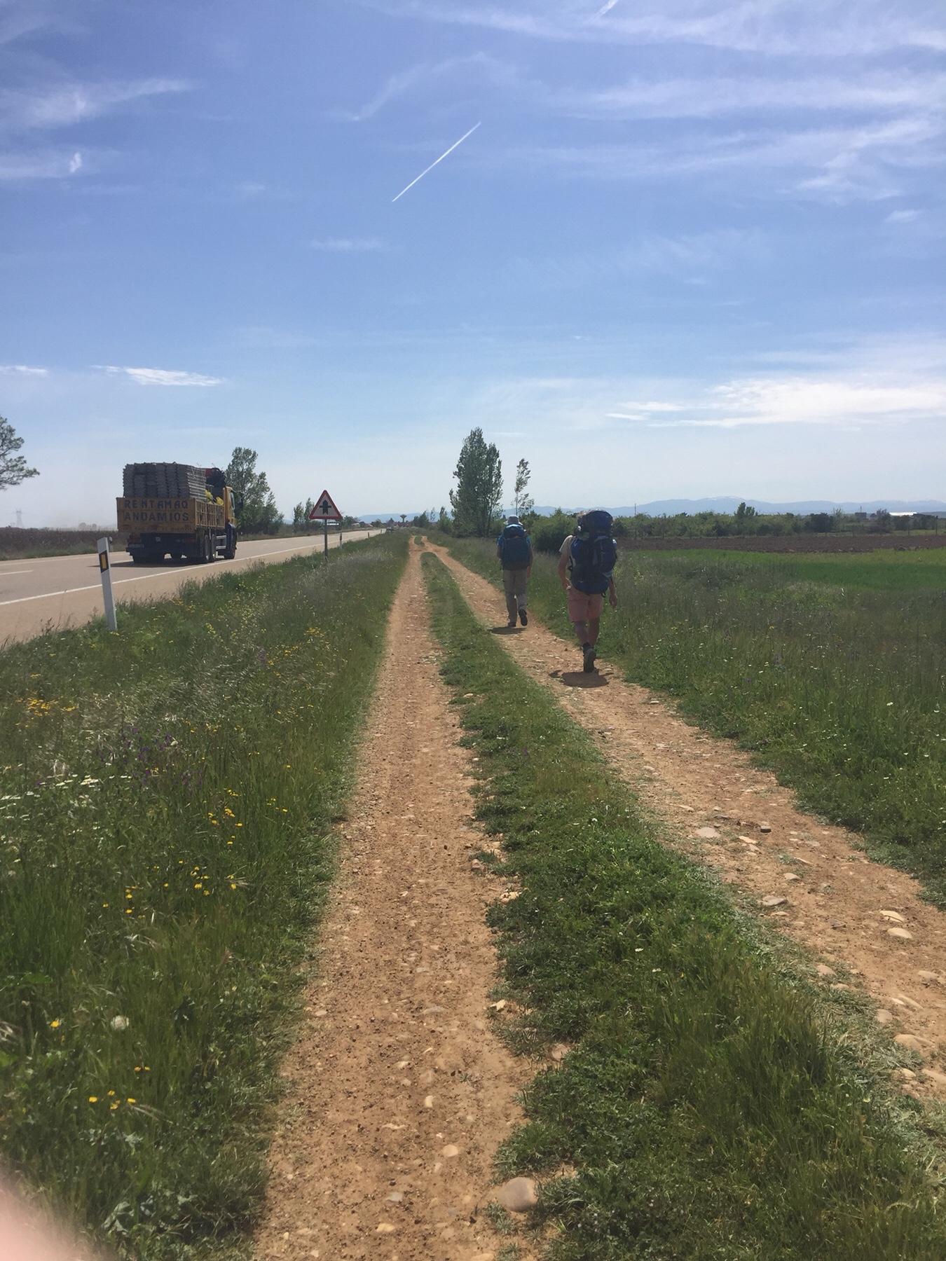 Jakobsweg für Masochisten und Sündiger - Camino Frances hinter Leon