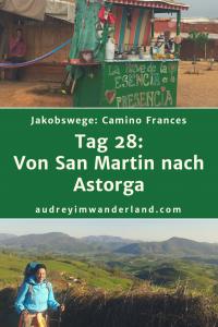 Camino Frances - Tag 28: Von San Martin nach Astorga #caminodesantiago #camino #caminofrances #Santiago #fernwanderung #wandern #spanien #pilgern #santiagodecompostella #finisterre #fisterra #galicien #galicia #outdoor #outdoorblog #outdoorblogger #reiseblogger #wanderblogger #wanderblog #reiseblog #läuftbeiihr