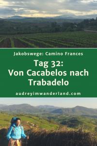 Camino Frances - Tag 32: Von Cacabelos nach Trabadelo #caminodesantiago #camino #caminofrances #Santiago #fernwanderung #wandern #spanien #pilgern #santiagodecompostella #finisterre #fisterra #galicien #galicia #outdoor #outdoorblog #outdoorblogger #reiseblogger #wanderblogger #wanderblog #reiseblog #läuftbeiihr