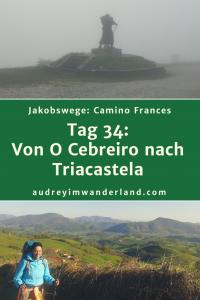 Camino Frances - Tag 34: Von O Cebreiro nach Triacastela #caminodesantiago #camino #caminofrances #Santiago #fernwanderung #wandern #spanien #pilgern #santiagodecompostella #finisterre #fisterra #galicien #galicia #outdoor #outdoorblog #outdoorblogger #reiseblogger #wanderblogger #wanderblog #reiseblog #läuftbeiihr