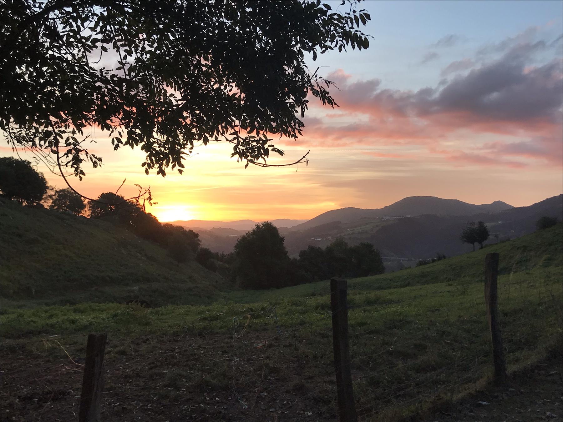 Sonnenaufgang Camino del Norte, Kategorie Aussicht, #fopanet Fotoparade