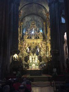 In der Kathedrale von Santiago