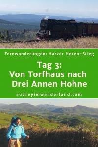 Harzer Hexen-Stieg Tag 3: Von Torfhaus nach Drei Annen Hohne #harz #hexenstieg #deutschland #wanderung #fernwanderung #wandern #fernwandern #rucksack #wanderblog #wanderblogger #outdoorblog #wald #läuftbeiihr