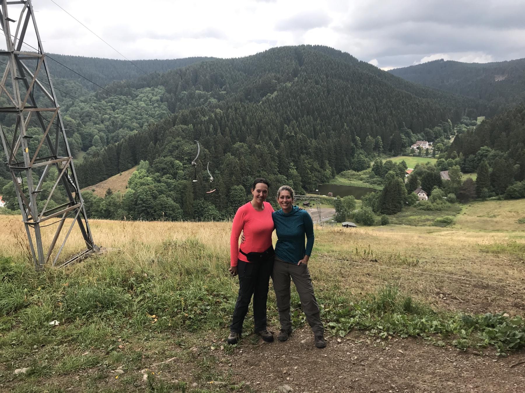 Am Aussichtspunkt Marienblick gleich am Harzer Hexen-Stieg