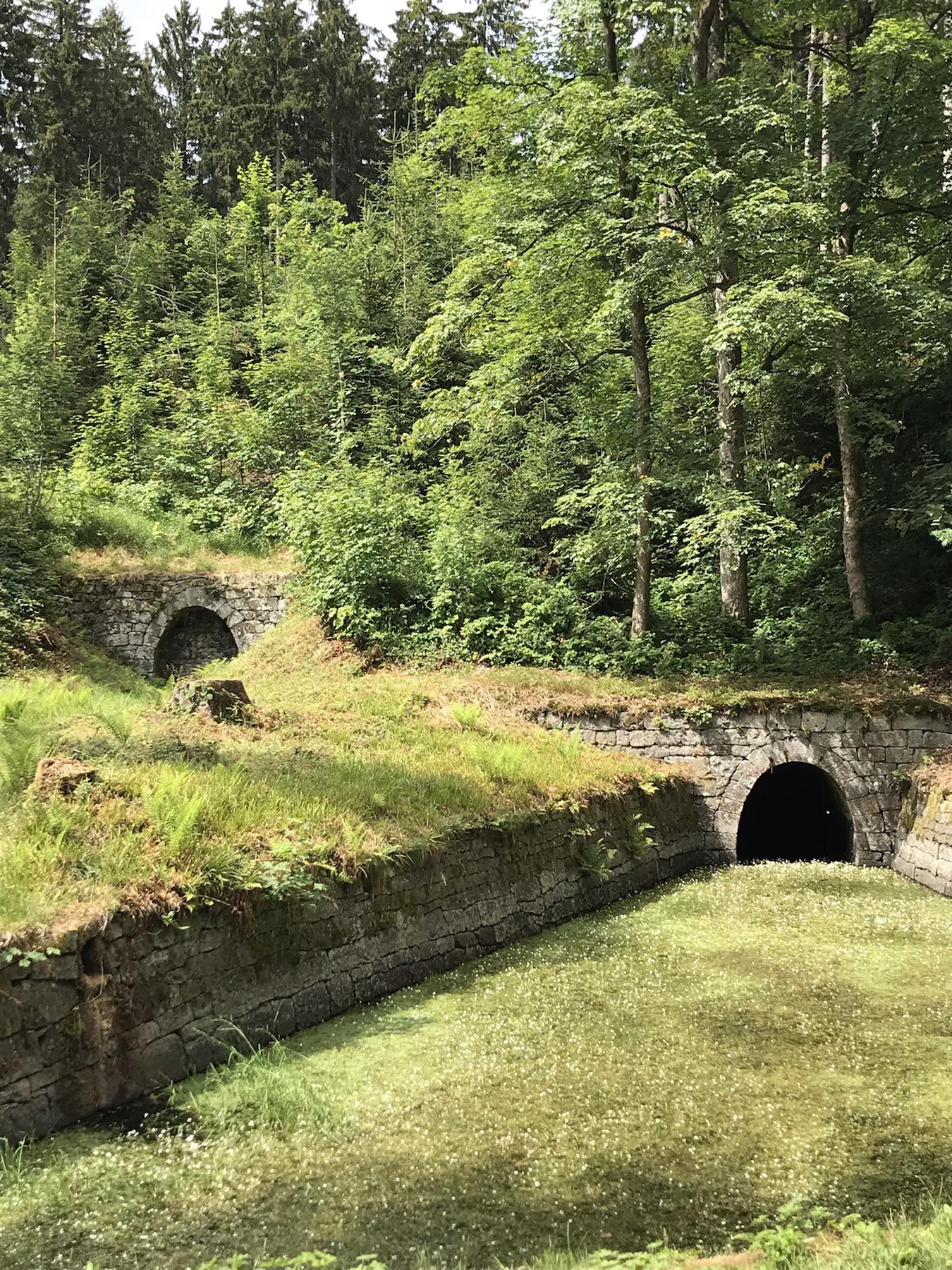 Stempelstelle 128, die Huttaler Widerwaage am Hexenstieg Harzer Wandernadel