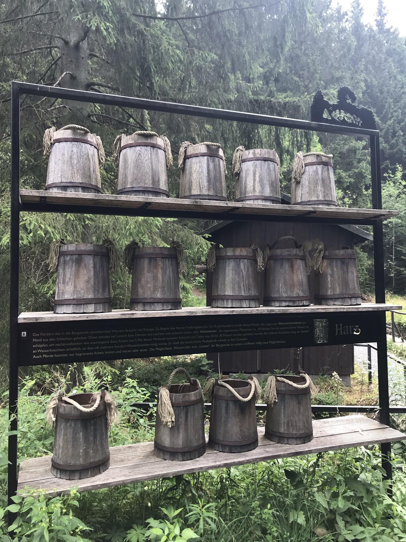 Denkmal für die Wasserknechte am Harzer Hexenstieg