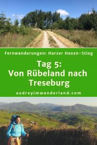 Harzer Hexen-Stieg- Tag 5: Von Rübeland nach Treseburg #harz #hexenstieg #deutschland #wanderung #fernwanderung #wandern #fernwandern #rucksack #wanderblog #wanderblogger #outdoorblog #wald #läuftbeiihr