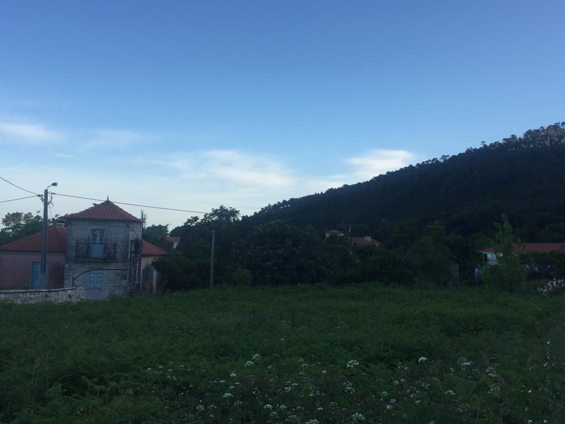 Tagesanbruch hinter Viana do Castello, Caminho Portugues