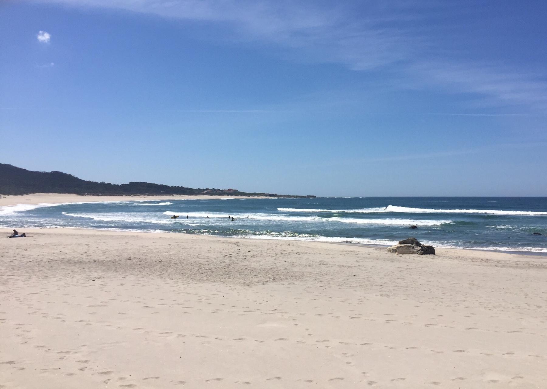 Traumhafte Bucht in Via Praia Ancora, Caminho Portugues