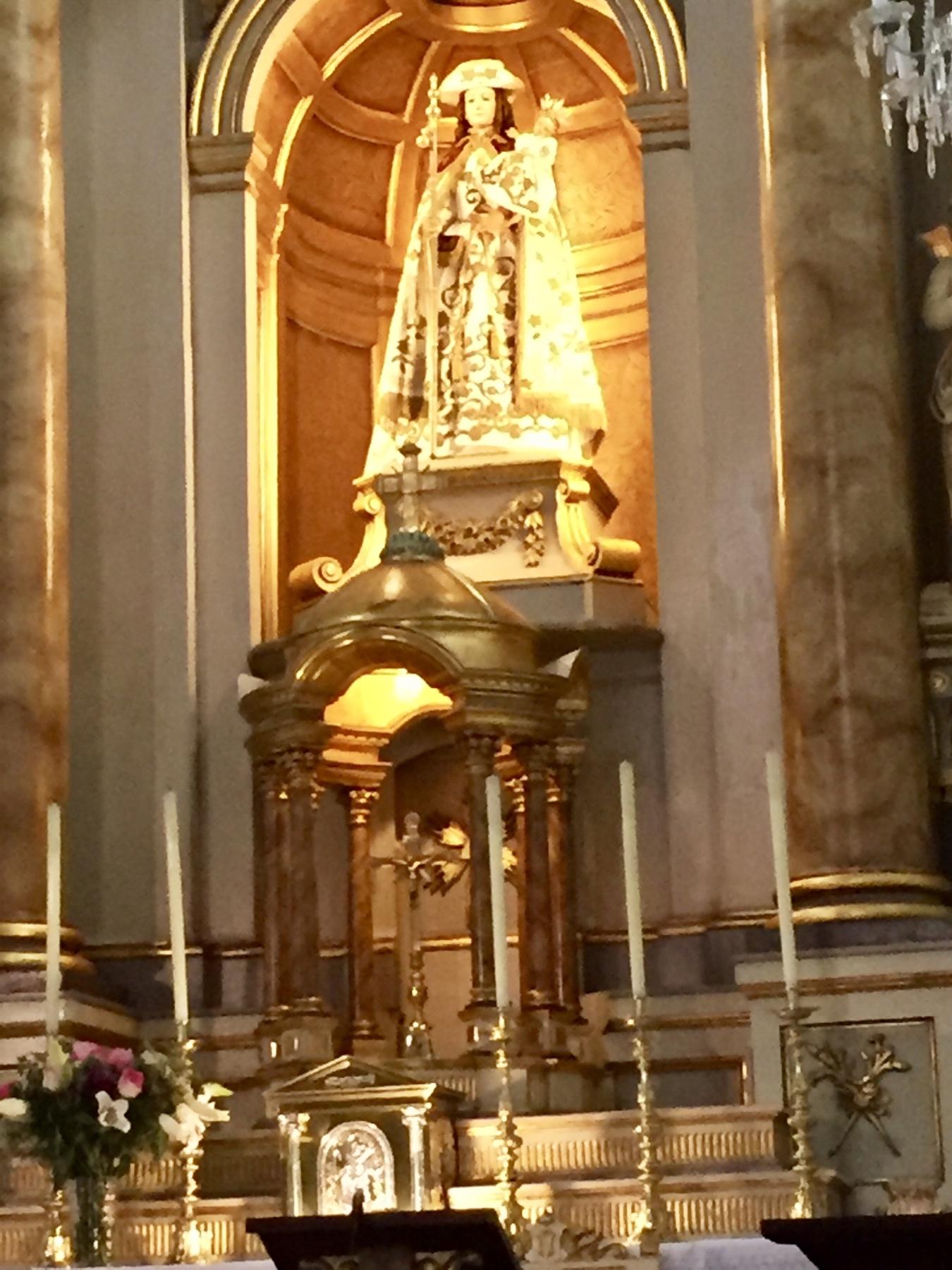 Capela da Virxe Peregrina de Pontevedra an Caminho Portugues, Jakobsweg