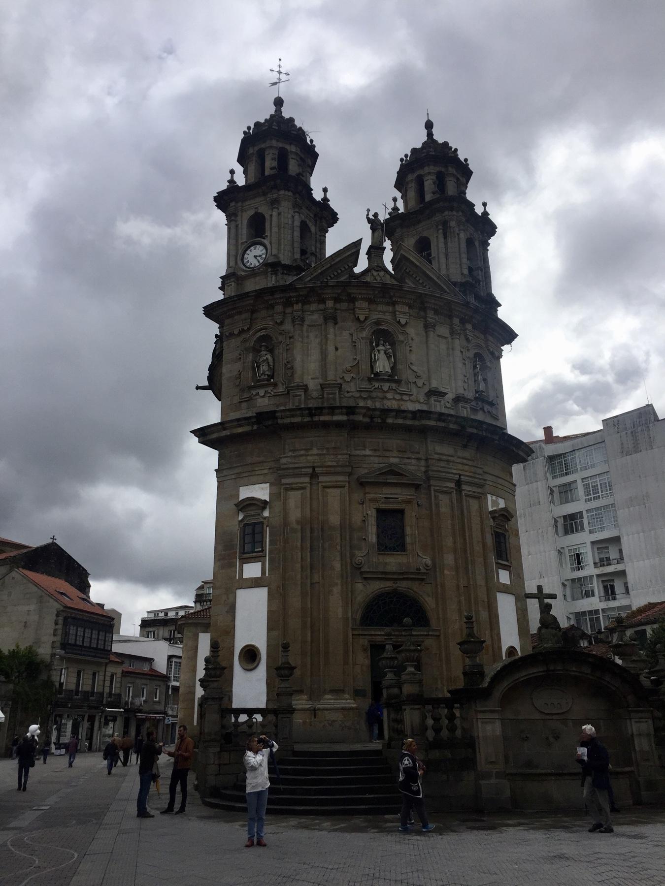 Capela da Virxe Peregrina de Pontevedra am Caminho Portugues