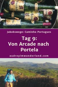 Caminho Portugues - Tag 9: Von Arcade nach Portela #caminodesantiago #camino #caminhoportugues #Santiago #fernwanderung #wandern #spanien #portugal #pilgern #santiagodecompostella #outdoor #reiseblogger #wanderblog #reiseblog #läuftbeiihr