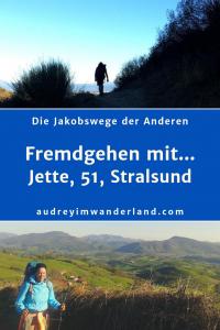 """Ausgabe 4 von """"Fremdgehen mit"""" - Jette, 51, aus Stralsund erzählt von 3789 Kilometern #Jakobsweg, vom langen Atem, Sprachbarrieren, den Lebenden und den Toten, von neuen Lieben, lachenden Hasen, Wanderern im Plisseerock und vom Pilgern, bis man den Löffel abgibt #Camino #Erfahrungsbericht #Blogprojekt #Jakobsweg #Caminofrances, #Baltisch-Mitteldeutscher-Weg #Brigittaweg #Camino Finisterre #outdoor #Via Baltica #Via Gebennensis #Via Podensis #Via Regia #läuftbeiihr"""""""