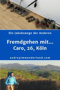 """In der 9. Ausgabe von """"Fremdgehen mit..."""" erzählt Caro, 26, aus Köln von 800 Kilometern auf dem Camino Frances - mit Flip Flops an den Füßen und Riesenkuscheltier Candy im Rucksack. #Caminofrances #Erfahrungsbericht #Blogprojekt #Jakobsweg #läuftbeiihr"""""""