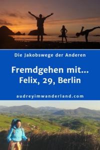 """In der 6. Ausgabe von """"Fremdgehen mit..."""" erzählt Felix, 29, aus Berlin von von 900 km Camino del Norte, von emotionalen Rucksäcken, einer Nacht am Strand und seiner Rückreise zu sich selbst, zu Felix, dem Glücklichen. #CaminoDelNorte #Camino #Erfahrungsbericht #Blogprojekt #Jakobsweg #Caminofrances #Caminhoportugues #läuftbeiihr"""