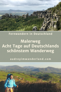 Fernwanderung Malerweg: Erfahrungsbericht, Eindrücke, Bilder und Tipps für die acht Etappen durch die Sächsische Schweiz #malerweg #saechsischeschweiz #deutschland #wanderung #fernwanderung #wandern #fernwandern #rucksack #wanderblog #wanderblogger #läuftbeiihr
