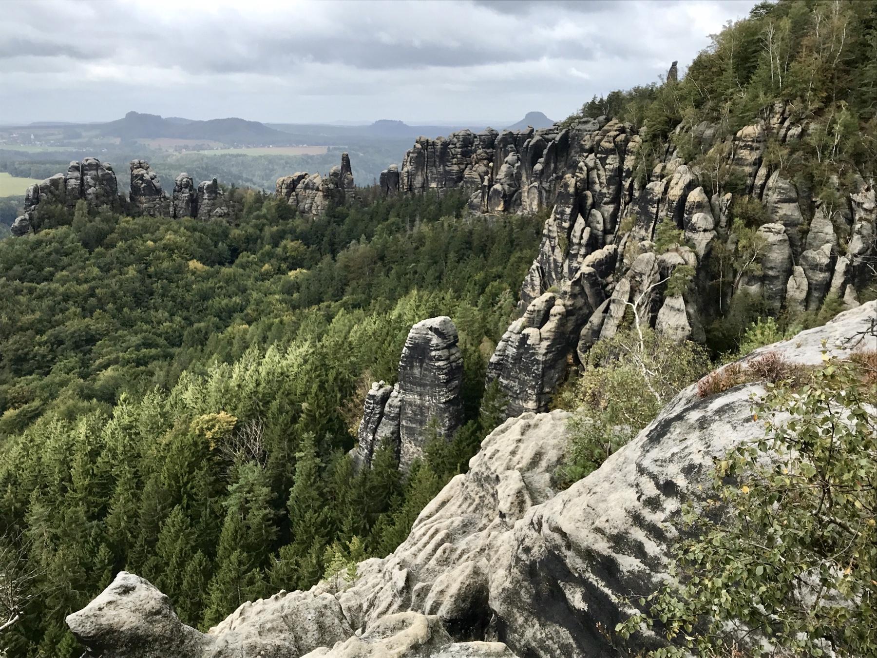 Schrammsteine Malerweg Etappe 4