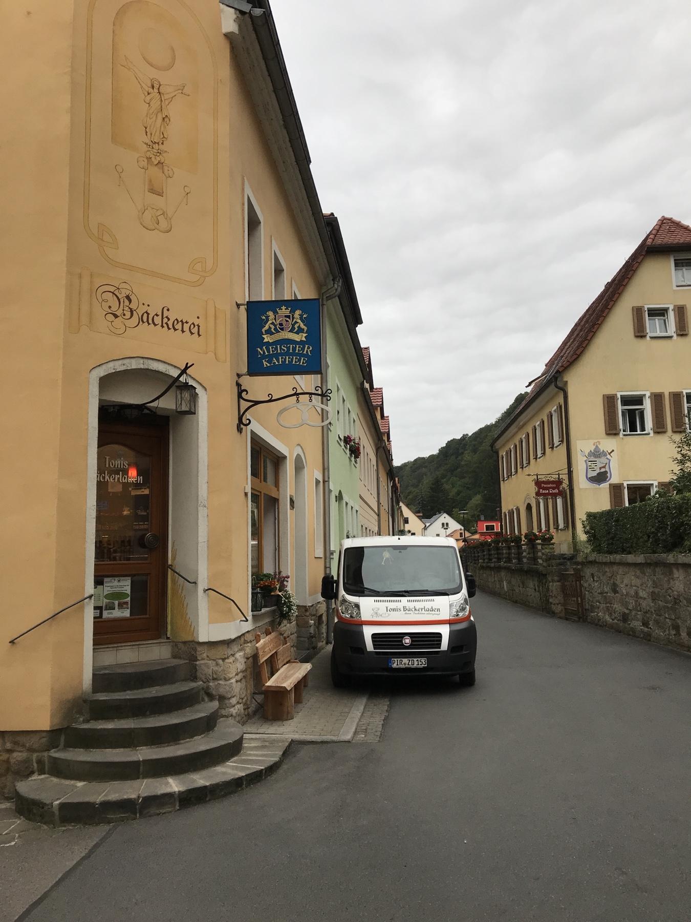 Tonis Backladen Bäckerein in Wehlen am Malerweg