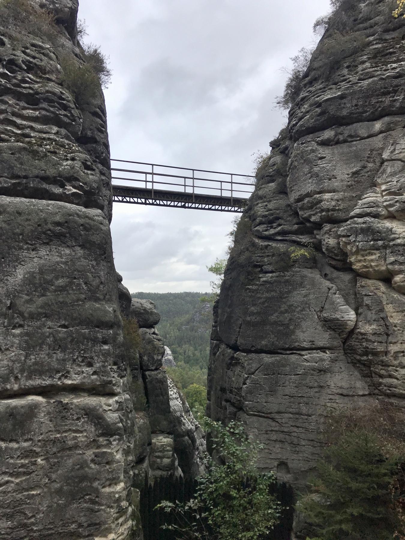 Felsenburg Neurathen Malerweg Etappe 2 Wehlen Hohnstein
