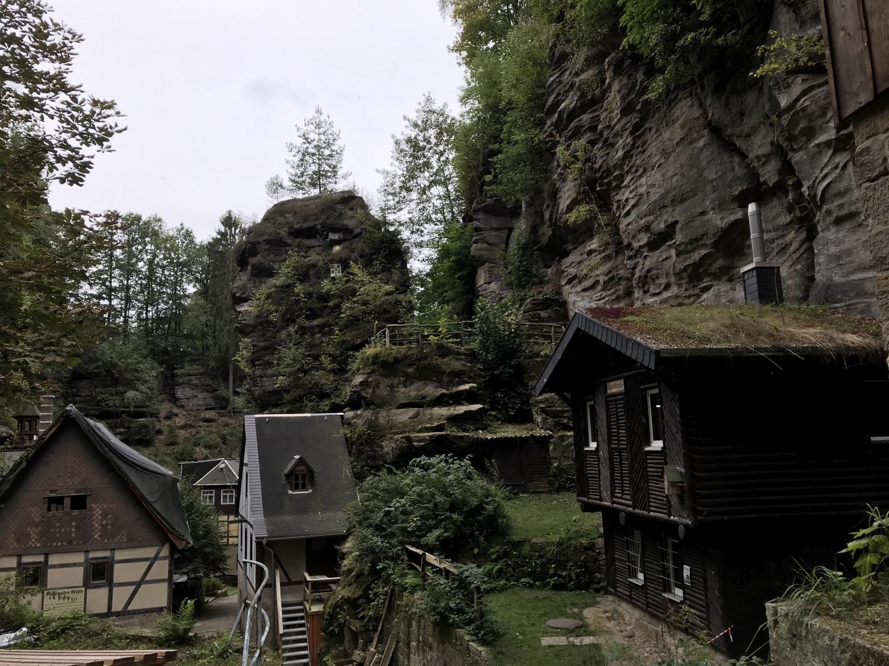 Rathenwalde am Malerweg Etappe 2 Wehlen Hohnstein