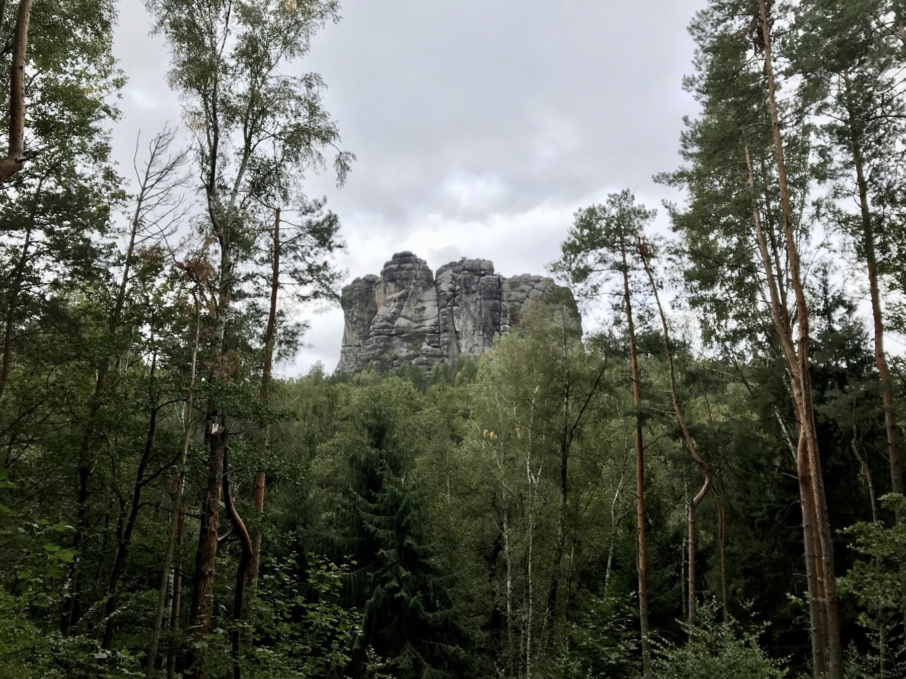 Rund um das Schrammsteintor, Malerweg Etappe 4 Altendorf Neumannmühle