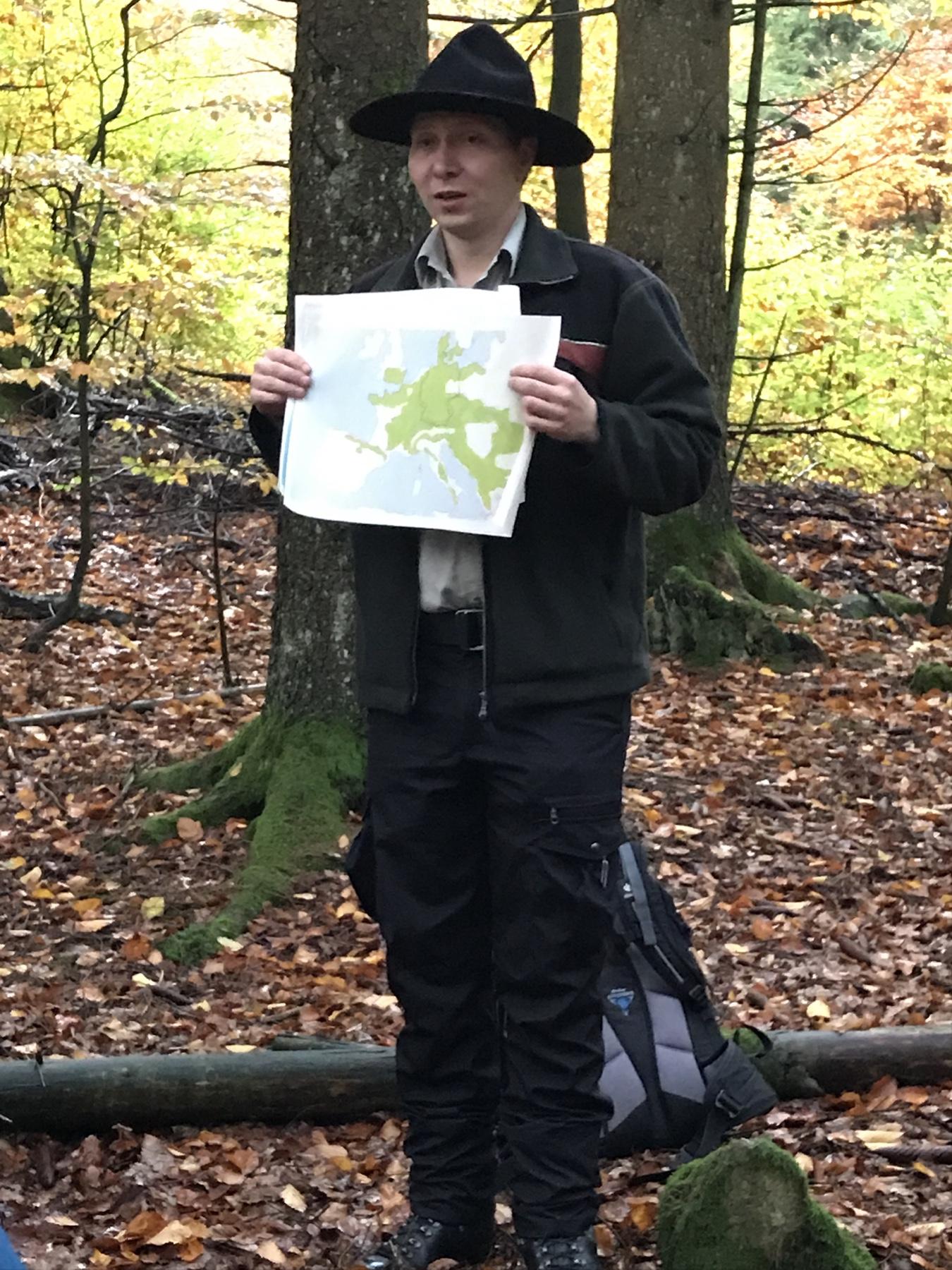 Ranger im Nationalpark Hunsrück-Hochwald
